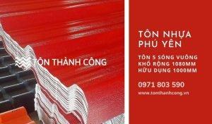 Tôn Nhựa 5 Sóng Vuông Phú Yên